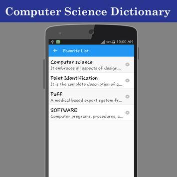 Computer Science Dictionary screenshot 17