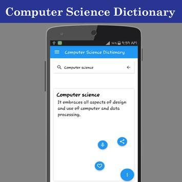 Computer Science Dictionary screenshot 2