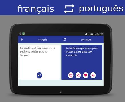 French Portuguese Translator screenshot 7
