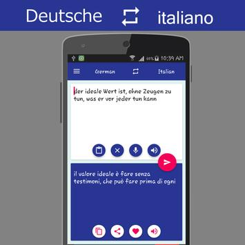 German Italian Translator screenshot 1