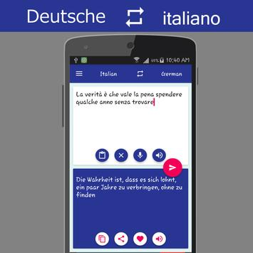 German Italian Translator screenshot 4