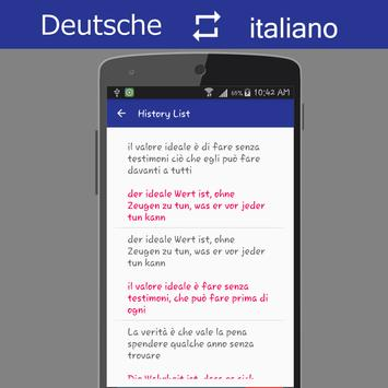 German Italian Translator screenshot 5