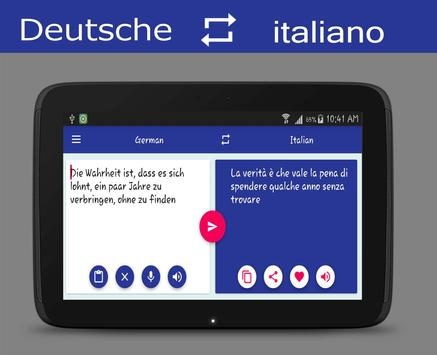 German Italian Translator screenshot 7