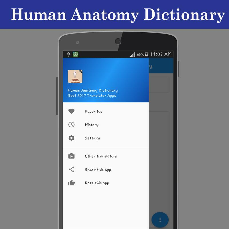 Human Anatomy Dictionary APK Download - Free Education APP for ...