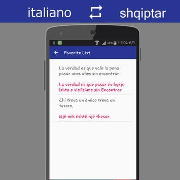 Italian Albanian Translator screenshot 6
