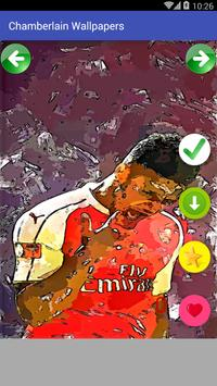 Oxlade Chamberlain Wallpaper Football Player screenshot 1