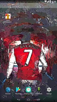 Alexis Sánchez Wallpaper Football Player screenshot 1