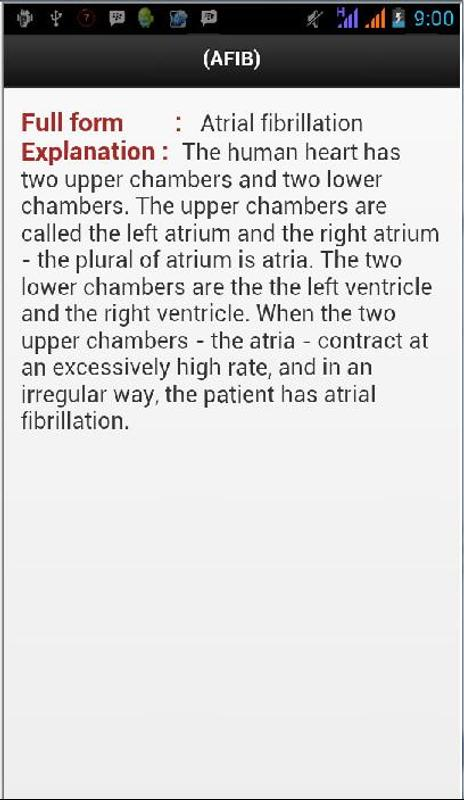 medical abbreviation list apk download free health fitness app
