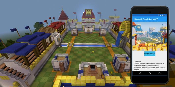 Craft Royale map for Minecraft PE. Maps for MCPE for Android - APK ...
