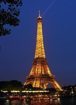 Paris puzzle poster
