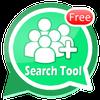 Friend Search For WhatsApp أيقونة