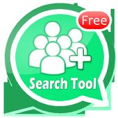 Friend Search For WhatsApp icon