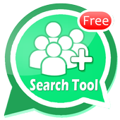 Friend Search For WhatsApp أيقونة