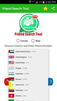 Friend Search For WhatsApp تصوير الشاشة 2