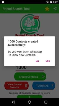 Friend Search For WhatsApp تصوير الشاشة 4
