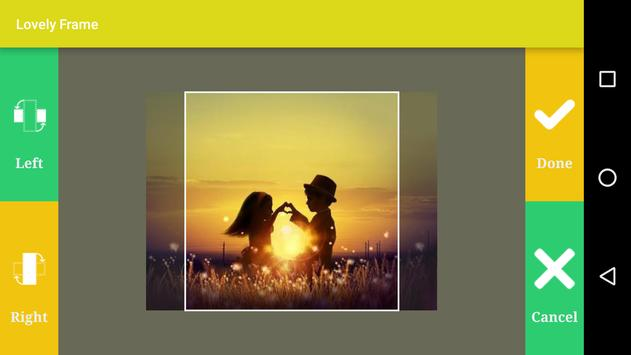 Lovely Photo Frame apk screenshot