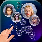 Photo Bubbles Live Wallpaper simgesi