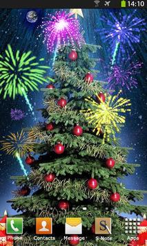 Christmas Fireworks Wallpaper screenshot 4