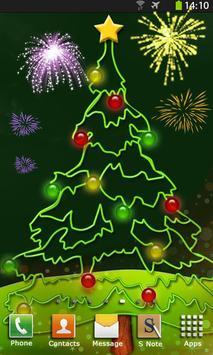 Christmas Fireworks Wallpaper screenshot 5