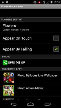 Flower Photoframes screenshot 3
