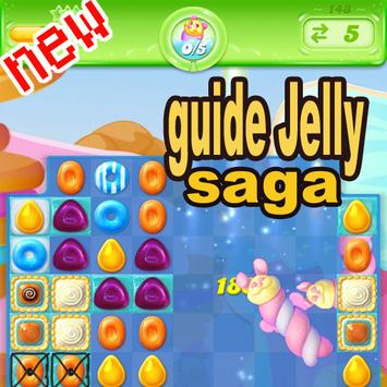 New Candy Crush Jelly Guide poster