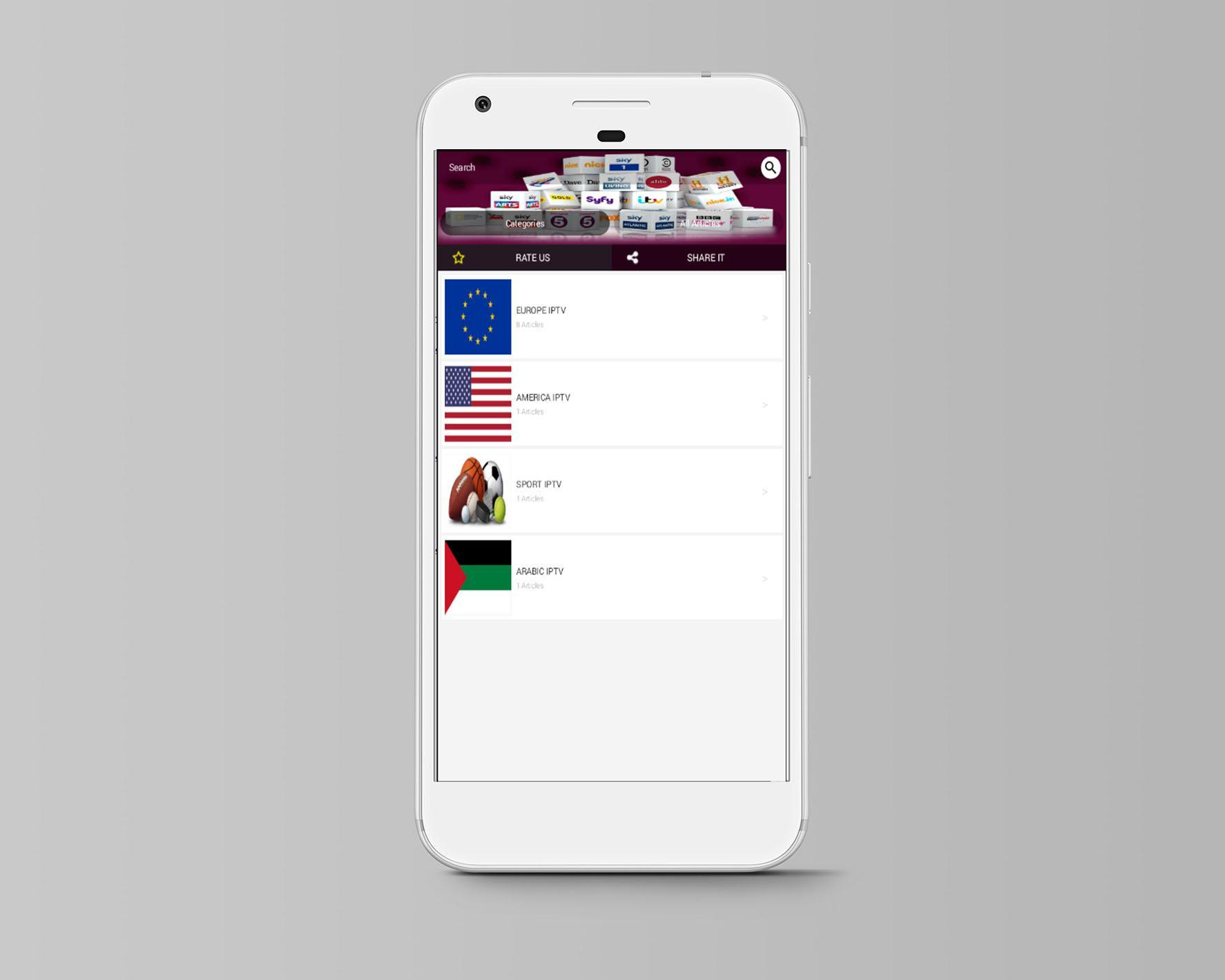 Best IPTV Download for Android - APK Download