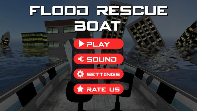 Flood Rescue Boat screenshot 4