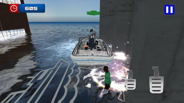 Flood Rescue Boat screenshot 12