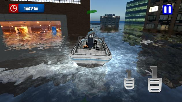 Flood Rescue Boat screenshot 1