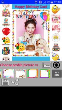 Happy Birthday Card Sticker apk screenshot