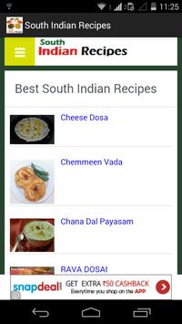 South indian food recipes apk download free lifestyle app for south indian food recipes poster forumfinder