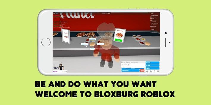 Guide Welcome to Bloxburg ROBLOX poster