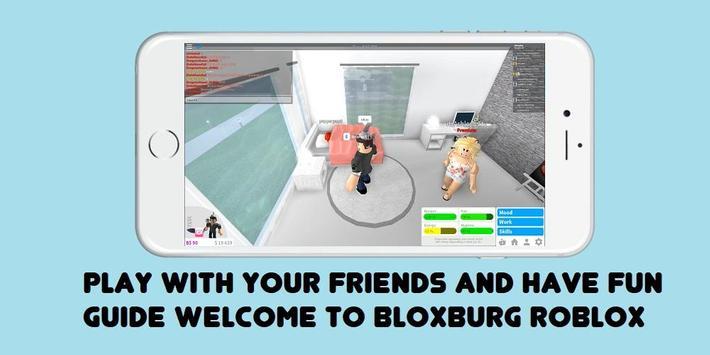 Guide Welcome to Bloxburg ROBLOX apk screenshot
