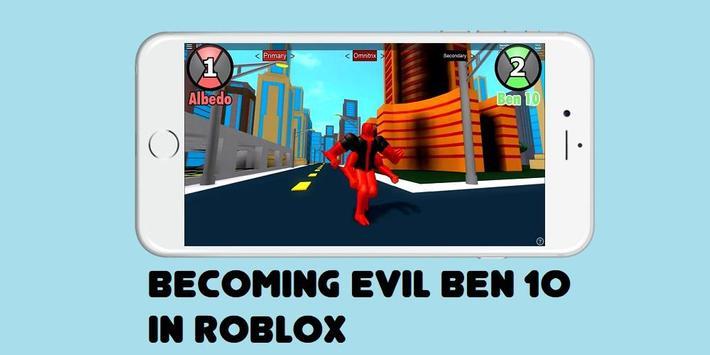 Guide Ben 10 & Evil Ben 10 ROBLOX poster