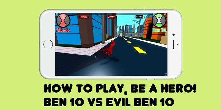 Guide Ben 10 & Evil Ben 10 ROBLOX screenshot 1