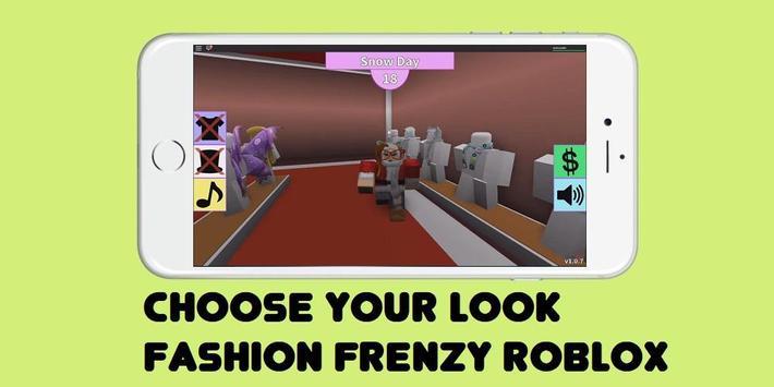 Guide Fashion Frenzy ROBLOX apk screenshot