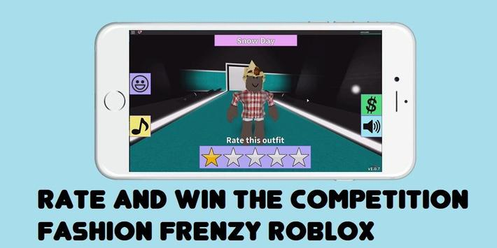 Guide Fashion Frenzy ROBLOX poster