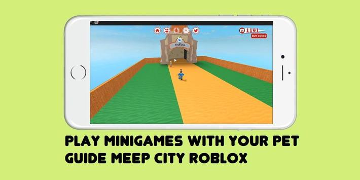 Guide MeepCity ROBLOX poster