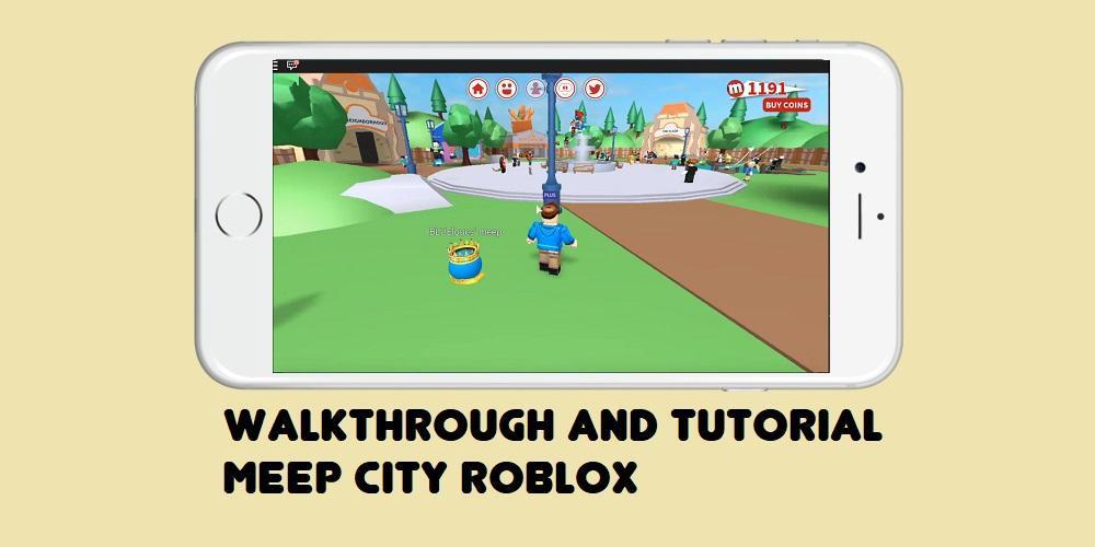 Roblox Meepcity Como Jogar - Guia Meepcity Roblox Para Android Apk Baixar