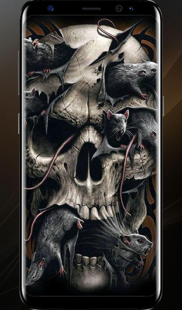 4k Skull Wallpaper For Android Apk Download