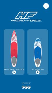 HydroForce SUP: VR experience poster
