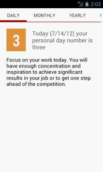 Numeroscope - Daily Horoscope screenshot 1