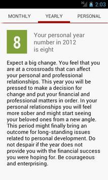 Numeroscope - Daily Horoscope screenshot 2
