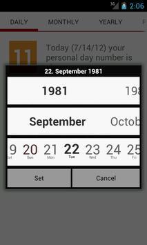 Numeroscope - Daily Horoscope screenshot 4