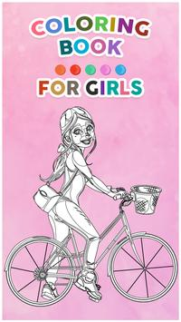 Coloring Book For Girls poster