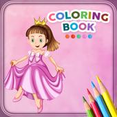 Coloring Book For Princess icon