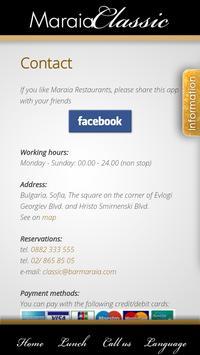 Maraia Restaurants screenshot 6