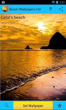 Beach Wallpapers HD screenshot 1