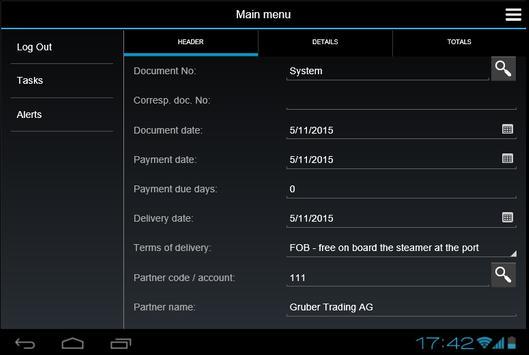 Zeron Mobile apk screenshot