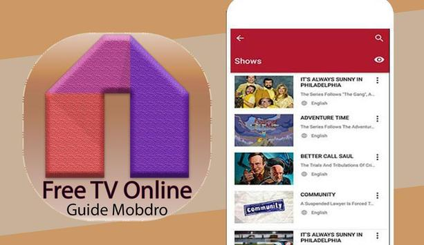 Guide For Mobdro Free OnlineTV poster